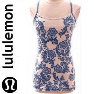 Lululemon Floral Print Tank Top